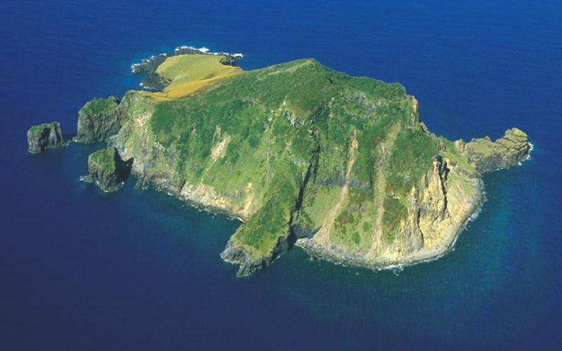写真:上ノ根島