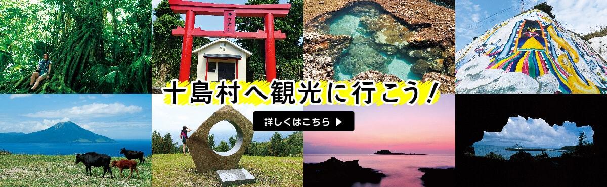 十島村へ観光に行こう